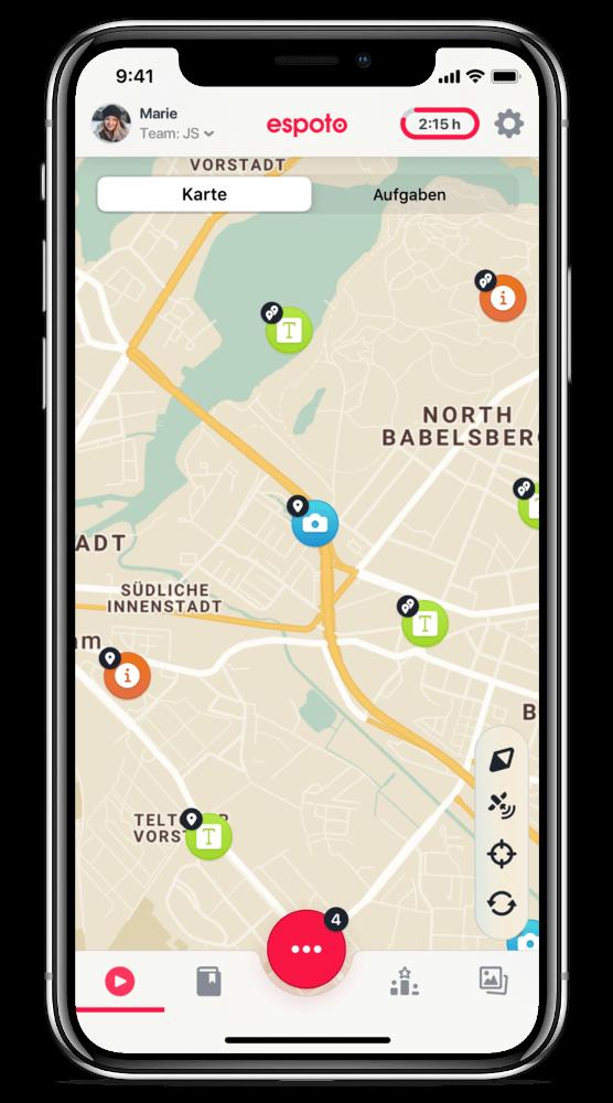 digital treasure hunt app